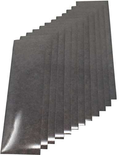 Qbc Craft Motorcycle Black Reflective Tape Kit 12 sheets 3.5