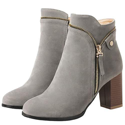Martin Smilice Boots Grey Women Ankle ESqPO7