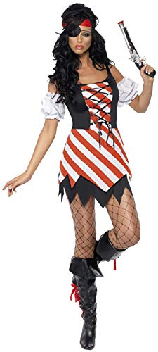 Fever Pirate Costume Small (8-10 Uk)
