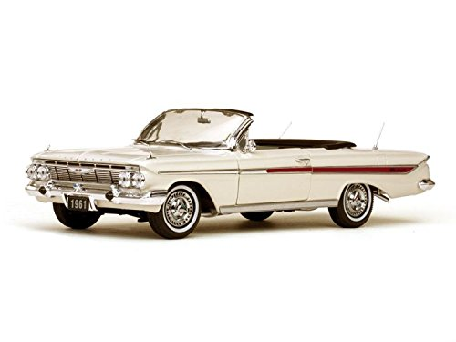 SunStar 1/18 Chevrolet Impala Open 1961 White (japan import) (1961 Japan)