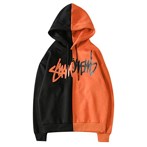 DIOMOR Hot Popular Unisex Streetwear Casual Party Fashion Print Letter Hoodie Sweatshirt Jacket -