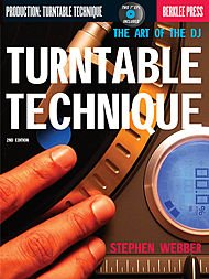 Turntable Technique - 2nd Edition Softcover with - Cover Technique Turntable