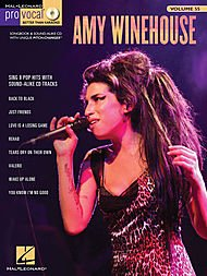 - Hal Leonard Amy Winehouse - Pro Vocal Songbook & CD For Female Singers Volume 55