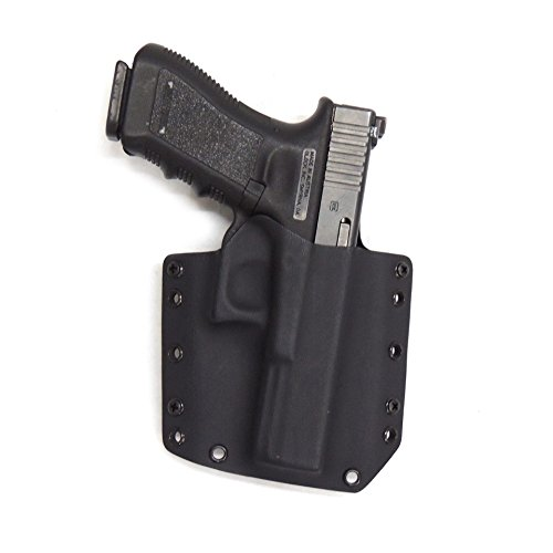 Std Shield (Raven Concealment Phantom Modular Holster - G43 RH BK FL STD-1.50 Glock 43 Black Full Shield 1.50)