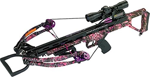 Carbon Express Covert Tyrant Huntress Ready-to-Hunt Crossbow Kit, Muddy Girl Camo, One Size