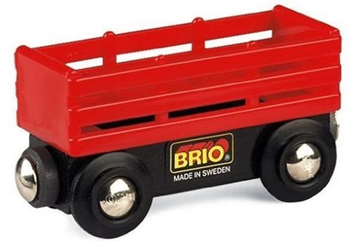 Brio Red Cattle Wagon (Cattle Wagon)