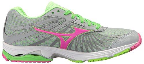 Womens Mizuno Wave Shoe Sayonara Womens 4 Pink Running Mizuno Grey xZrqEtwByZ