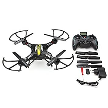 Blueskysea JJRC H8C 2.4G 4 canales 6 Axis RC Quadcopter Con 2MP ...
