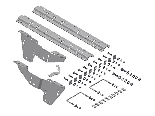 B&W Trailer Hitches Custom Fifth Wheel Mounting Brackets (RVK2500) with Rails by B&W Trailer Hitches