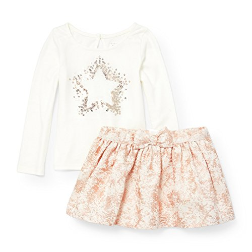The Children's Place Baby Girls' Top and Skirt Set