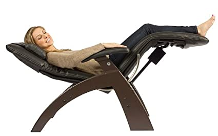 Human Touch PC 300 Perfect Chair Electric Power Recline Wood Base Zero Gravity  Recliner