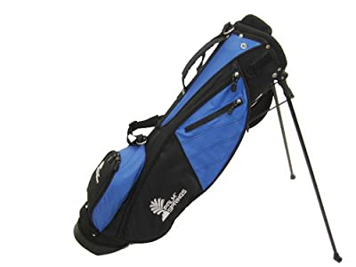 PALM SPRINGS Sunday Golf Bag w/stand Blue/Black [Misc.]