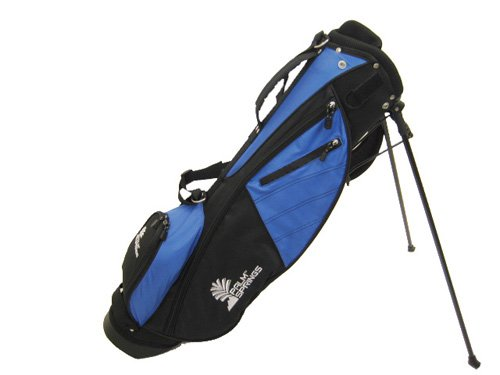 Palm Springs Sunday Golf Bag w Stand Blue Black Misc.