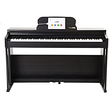 the one smart piano weighted 88 key digital piano grand graded hammer action keys. Black Bedroom Furniture Sets. Home Design Ideas