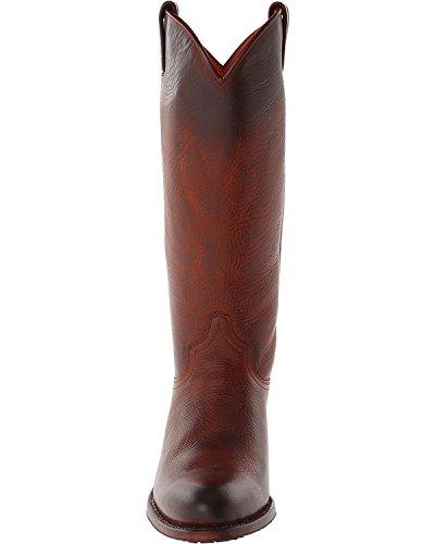 Frye Womens Deborah Lug Tall Boot Round Teen - 76737-rdd Redwood