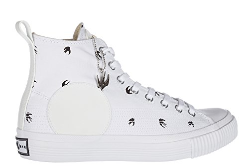 MCQ Alexander McQueen Herrenschuhe Herren Schuhe High Sneakers Micro Plimsoll SW