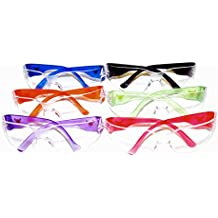 G & F 13016NEW EyePRO Safety Goggles with 99% Protection Against UV-A, B and C Rays, Impact, and Ballistic Resistant and Clear Lenses (12 Pack)