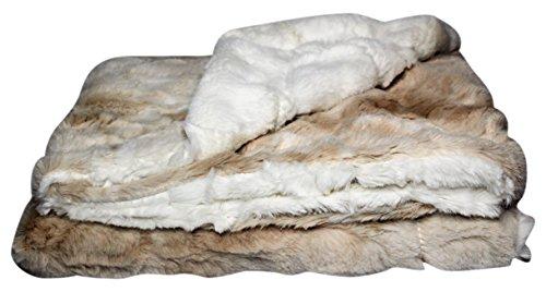 - Zandino Coutore Ethan Creme-Beige Plush Baby Blanket