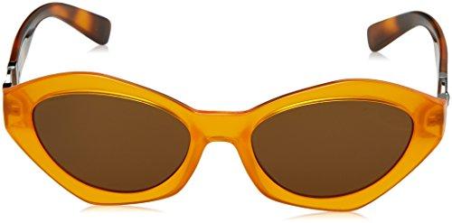 Sol Gafas Mujer Orange Transparent para de Versace wfOAFnxO