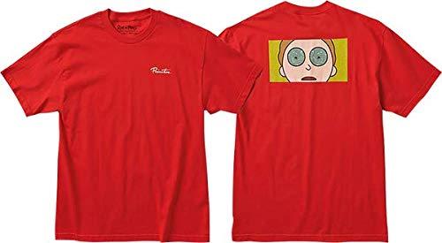 Primitive R&M Morty Hypno Eyes T-Shirt - Size: Medium Red