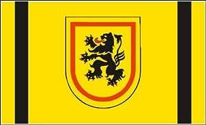 UB FahnenMax–Bandera País circular Meißen 90cm x 150cm NUEVO.