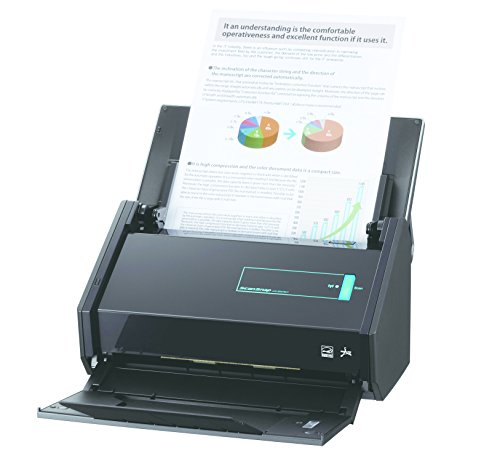Fujitsu ScanSnap iX500 Deluxe Bundle Scanner for PC (PA03656-B015) (Discontinued by Manufacturer)