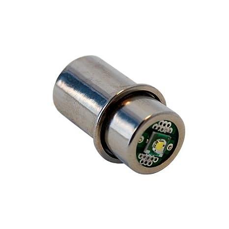 HQRP Bombilla LED de alta intensidad 180LM para 3D 4D 5D 6D / 3C 4C 5C 6C Linternas: Amazon.es: Hogar