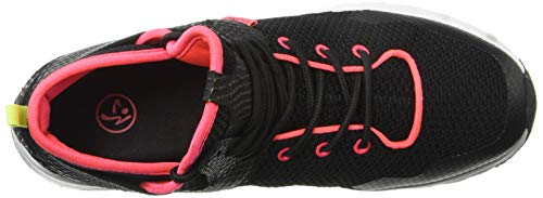 Sneaker Coral Air Workout Women's Black Athletic Women's Classic Dance Zumba Sneakers wpqZ41x