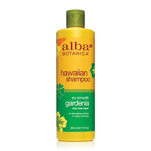 Alba Botanica Go Smooth Gardenia Hawaiian Shampoo, 12 oz.