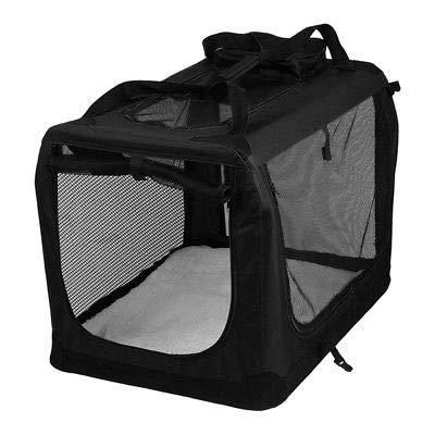Generic ansport Bagg Dog Cat Puppy Cat Puppy Pet Carrier Black Travel Transport Folding Dog Bag Pet Carrier