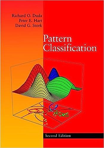 Pattern classification, 2nd edition | pattern analysis.