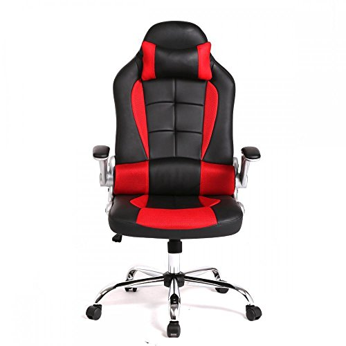 413P7K5C5GL - New-High-Back-Racing-Car-Style-Bucket-Seat-Office-Desk-Chair-Gaming-Chair