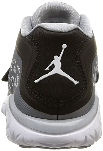 Nike Jordan Flight Flex Trainer 2 Zapatillas de deporte exterior, Hombre Gris / Blanco / Negro  (Wolf Grey/White-Black)