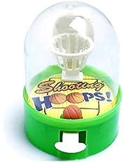 Easyeeasy Nyhet Leksak Mini Pocket Basket Pitching Game för barn Multifunktionell intelligens Smart Leksaker Slumpmässig färg