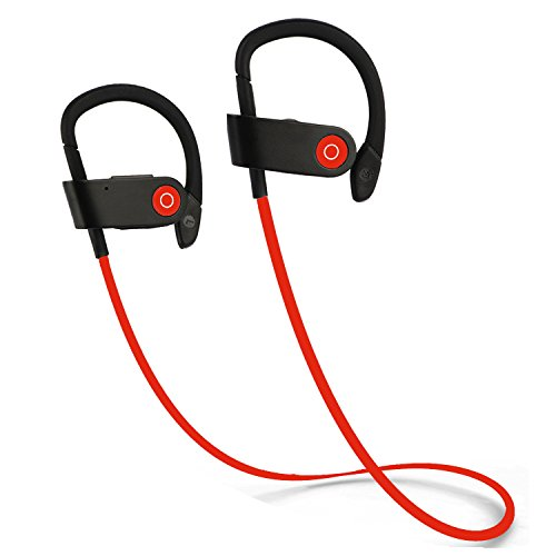 Bvnine Bluetooth Sport Headphones Wireless Earbuds Headphones for Running with Microphone for iPhone Samsung and Android