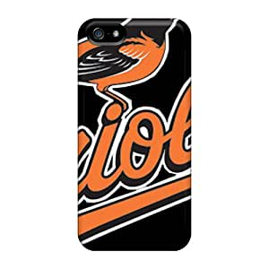 Iphone 5/5s FFN9403CwBC Unique Design Beautiful Baltimore Orioles Image Shock Absorption Cell-phone Hard Cover -AlissaDubois