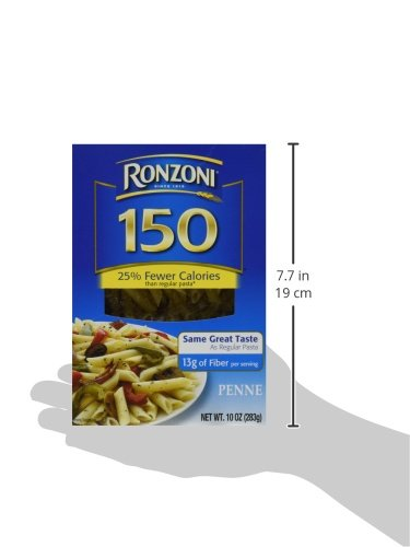 Ronzoni Penne 150 Calories - Fewer Calories Pasta (2 Pack)