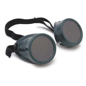 Lincoln eléctrica kh627 soldadura soldadura cup-style gafas de seguridad, gris (Pack de