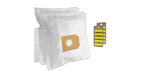 Set 10 Ambientadores + Filtro + 10 Bolsas de aspiradora para UFESA 1500 W Turbo Electronic: Amazon.es: Hogar