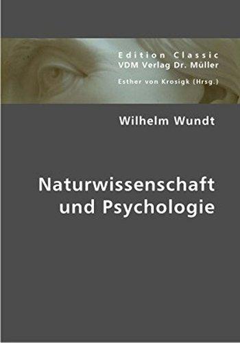 Naturwissenschaft und Psychologie (German Edition) PDF