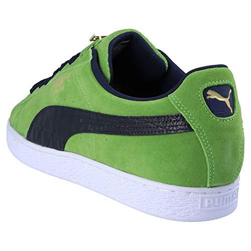 Suede Fabulous Baskets Classic Puma Bboy Homme Mode Vert dagTywqc
