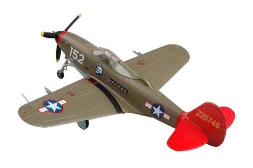 (Easy Model P-39 Aircobra Red Tails Building Kit)