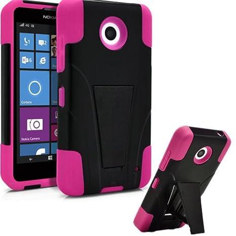 Amazon.com: Nokia Lumia 635 Caso, Premium Funda Hard & Soft ...