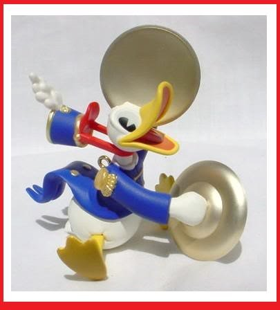 Christmas Donald Duck - Donald Duck Christmas Ornament: