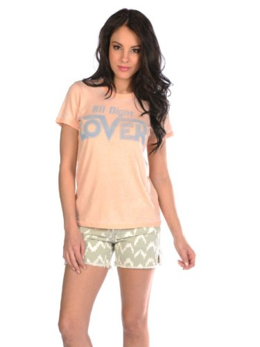 Junk Food Womens All Night Lover Tee - Calypso - Small