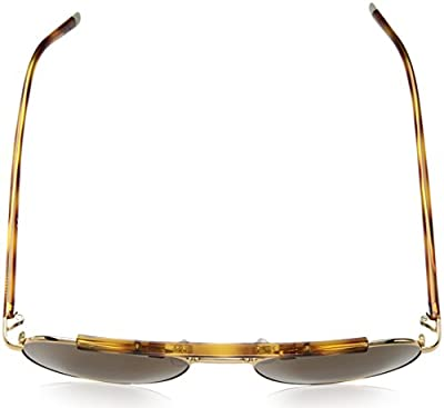 Calvin Klein Men's Ck1220s Aviator Sunglasses, Yellow Gold, 54 mm