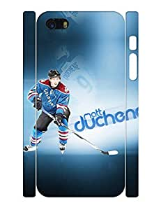 Classic Series Cell Phone Case Muscular Men Ice Hockey Athlete Designed Drop Proof Case Cover for Iphone 5 5s (XBQ-0198T) by lolosakes