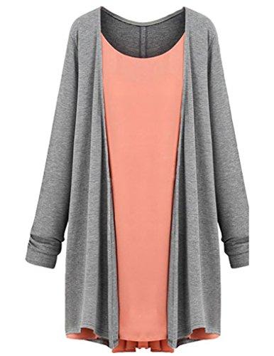 Jollychic - Vestido - para mujer gris