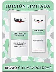 Eucerin Eucerin pack dermopure fluido matificante 50ml + mini gel limpiador 20ml