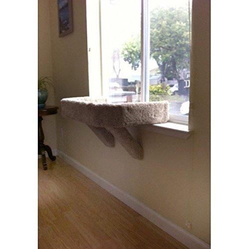 Mega Sleeper Cat Window Perch (Off White)